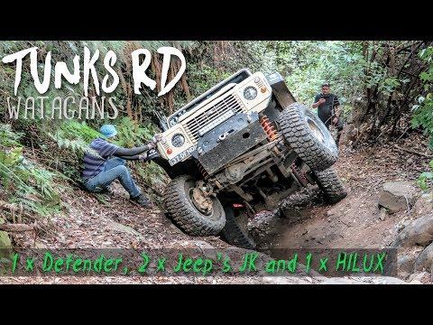 Tunks Rd Wattagans 4wd | Technical 4x4 | Broken Stub Axel | ALLOFFROAD#122