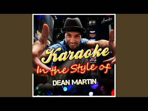 Baby It's Cold Outside (In The Style Of Dean Martin) (Karaoke Version)