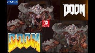 DOOM - PS4 vs Nintendo SWITCH Graphics Comparison
