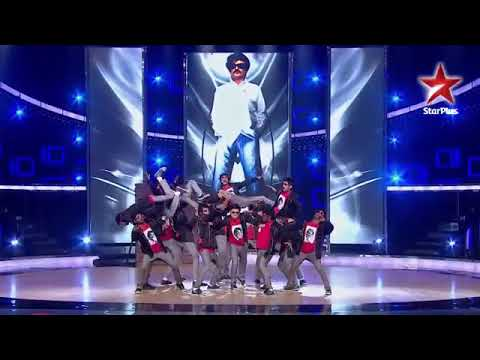 Loyola Dream Team   TRIBUTE TO OUR SUPER STAR RAJINIKANTH India's Dancing SuperStar