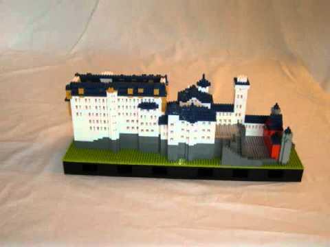 The highest difficulty Nano block 3D Building block toy Castle 4700pcs+//sets