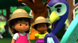 Sevimli Ufaklıklar ⭐️ Ormanda eğlenceli!   Eğlenceli Klipler   Çizgi film