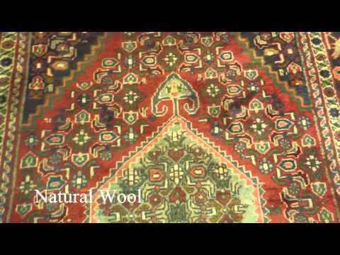 4x7 Old Bijar Semi-Antique Handmade Rug