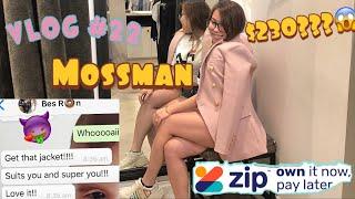 VLOG #22 MY BESTIE MADE ME BUY IT | $230 AUD BLAZER??? FIRST TIME USING ZIP PAY~ MOM&PARIS