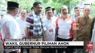 Wakil Gubernur Pilihan Ahok