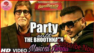 Download Party With the Bhoothnath   Yo Yo Honey Singh   Hi Bass Mix   Dj SOurav Raj   Musical Ismail MP3 song and Music Video
