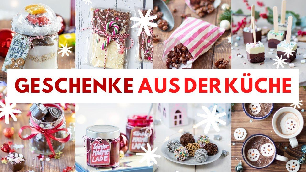 10 Geschenke aus der Küche! Einfache und günstige Geschenkideen