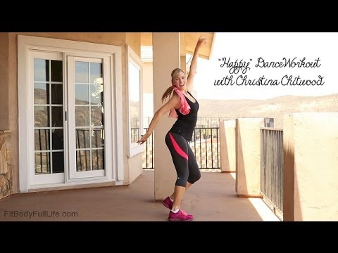 Pharrell Williams Happy  Dance Workout with Christina Chitwood song from Despicable Me 2