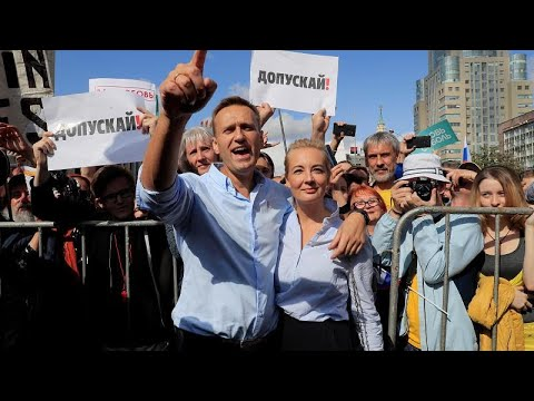 Oposição manifesta-se em Moscovo