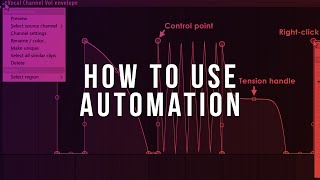 How To Use Automation Clips (FL Studio Tutorial)