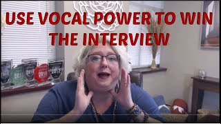 Executive Job Interview Tip: Get Vocal Power to Win Your Phone Interviews
