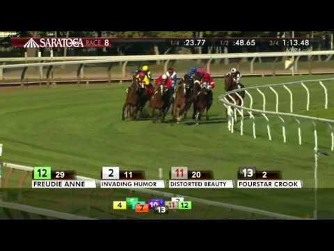 Fourstar Crook - 2016 Yaddo Stakes En Espanol