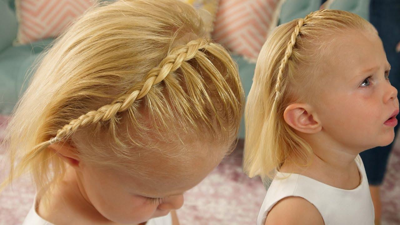 Lace Dutch Braid Cute Braid For Little Girls Youtube
