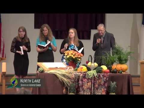 10-8-16 Church Service at North Lake Seventh-day Adventist Church