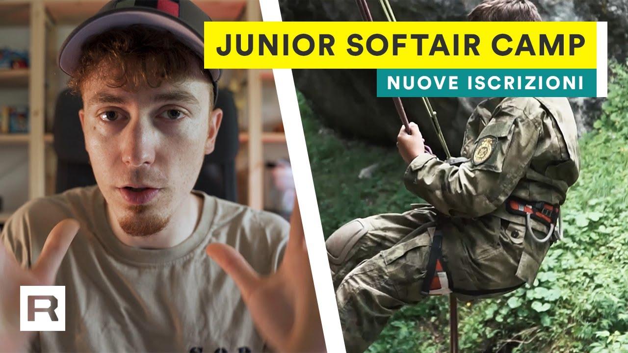 Junior Softair Camp 2020 • Aperte le nuove iscrizioni! | Turno Extra