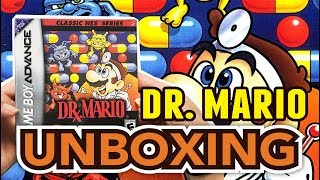 Classic NES Series Dr.Mario (GameBoy Advance) Unboxing !!