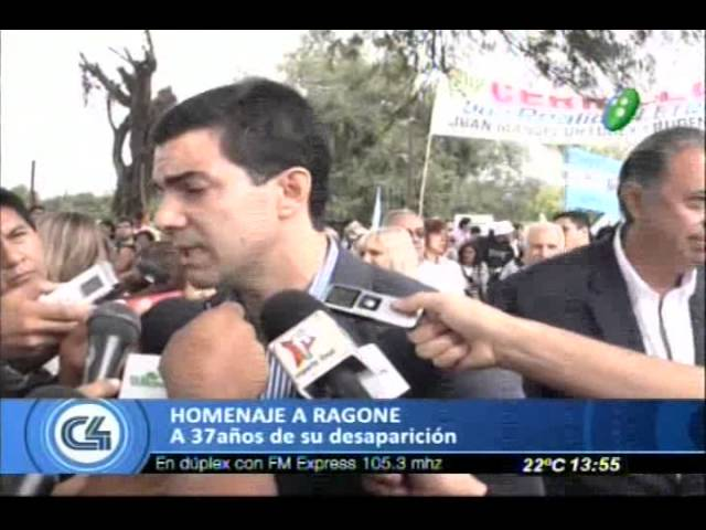 Urtubey estuvo en el homenaje a Ragone Travel Video