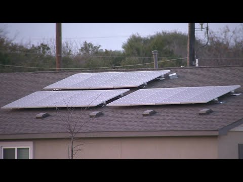 Video: Colder, cloudier winter puts damper on electric bills of homeowners with solar panels