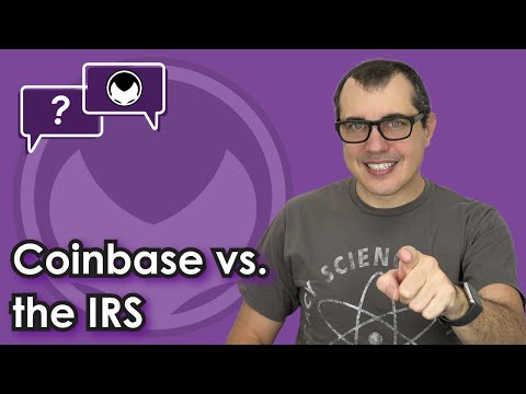 Bitcoin Q&A: Coinbase vs. the IRS
