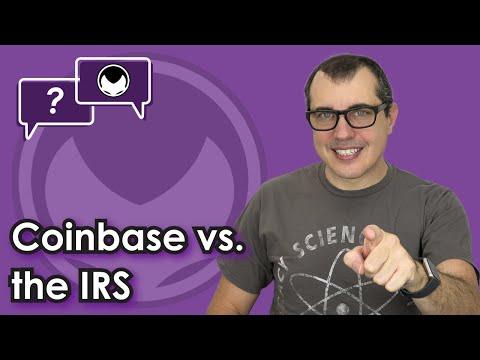 Bitcoin Q&A: Coinbase vs. the IRS
