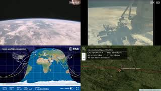 Passing Over Europe - NASA/ESA ISS LIVE Space Station With Map - 494 - 2019-02-20
