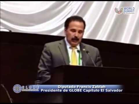 Diputado Francis Zablah elegido Presidente de GLOBE International, Capitulo El Salvador