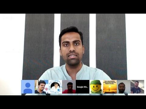 गूगल द्वारा हिंदी वेबमास्टर्स के लिये Hangouts ऑन एयर (जनवरी '18)