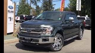 2018 Ford F-150 Lariat FX4 EcoBoost SuperCrew Review| Island Ford