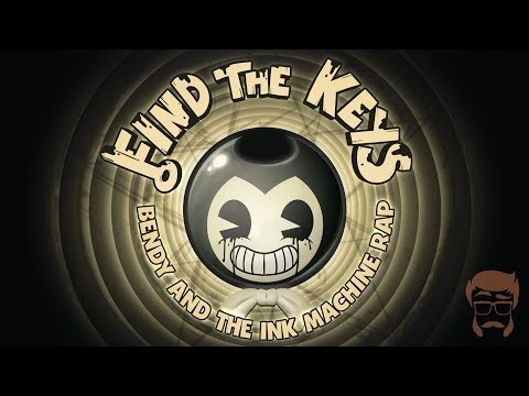 FIND THE KEYS | Animated Bendy and the Ink Machine Rap!