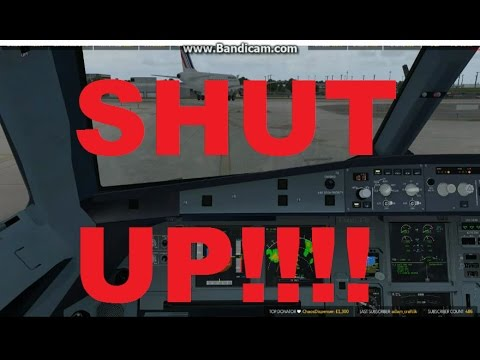 French VATSIM Controller Gets Angry During ProjectFly Event.