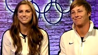 "USWNT - Alex Morgan & Abby Wambach ""That's Why She's Gonna Be A Superstar"" - London 2012 Olympics"