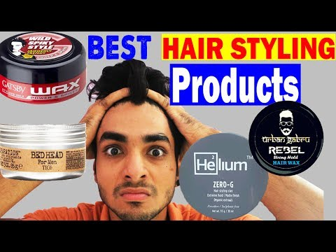 BEST HAIR STYLING BRANDS YOU SHOULD USE IN INDIA | Men's hairstyles 2017 ft. UrbanGabru, Helium