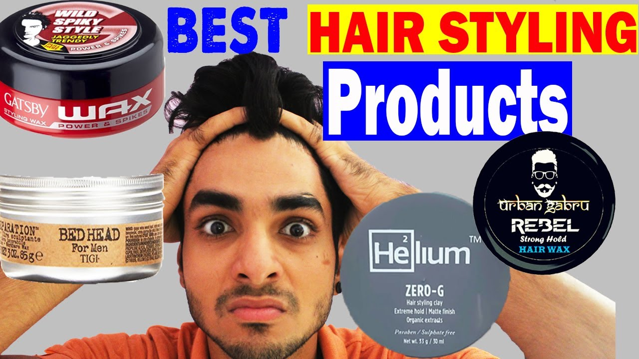 BEST HAIR STYLING BRANDS YOU SHOULD USE IN INDIA | Menu0027s Hairstyles 2017  Ft. UrbanGabru, Helium