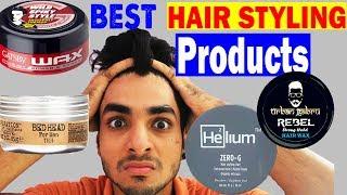 BEST HAIR STYLING BRANDS YOU SHOULD USE IN INDIA | Men's hairstyles 2017 ft. UrbanGabru, Helium