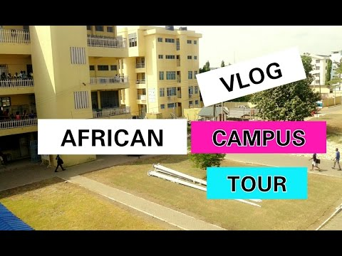 MY AFRICAN UNIVERSITY CAMPUS , CLASSROOM AND HOSTEL TOUR