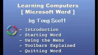 Learning Microsoft Word - Part 001 - Introduction