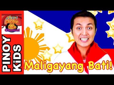 Maligayang Bati (Happy Birthday Tagalog Version)    Pinoy BK Channel🇵🇭   TAGALOG (AWITING PAMBATA)
