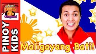 Maligayang Bati (Happy Birthday Tagalog Version) | Pinoy BK Channel🇵🇭 | TAGALOG (AWITING PAMBATA)