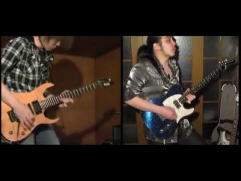 HighlyStrungでギターバトルしてみた。