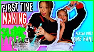 Making Slime For The First Time w/ Piper Rockelle! Slimese Twins Challenge, Learn How to Make Slime