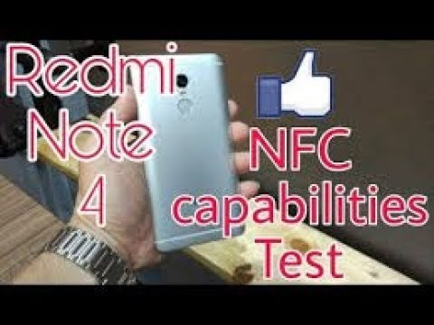 NFC In Redmi Note 4 |check NFC On Redmi Note 4 Or Any Smartphone