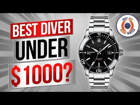 Best Diver Under $1000? Christopher Ward Trident Pro 600