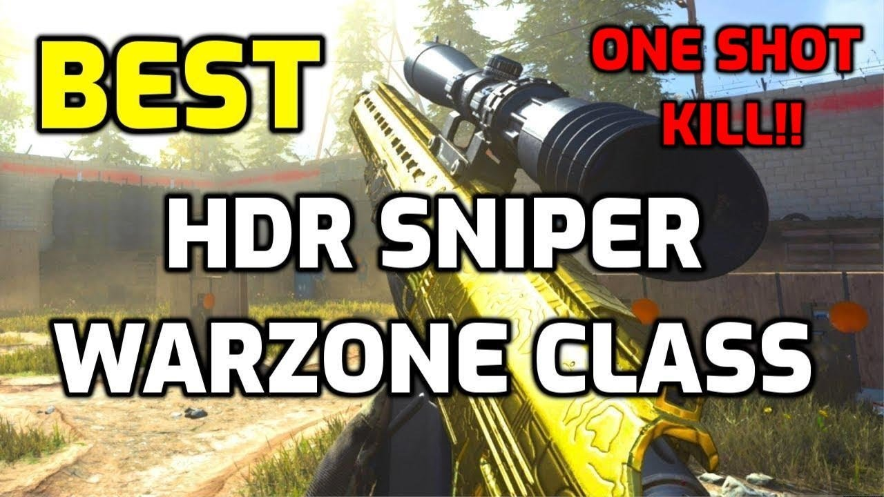 BEST HDR CLASS SETUP FOR WARZONE Call of Duty Modern Warfare (COD MW) One shot kill