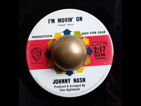 Johnny Nash I'm movin' on WARNER BROS