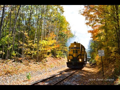 Conway Scenic's Notch Train: A Chase from North Conway to Fabyan's