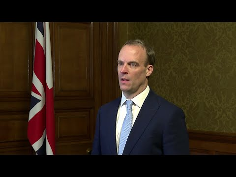 British PM Boris Johnson in intensive care says Foreign secretary | AFP