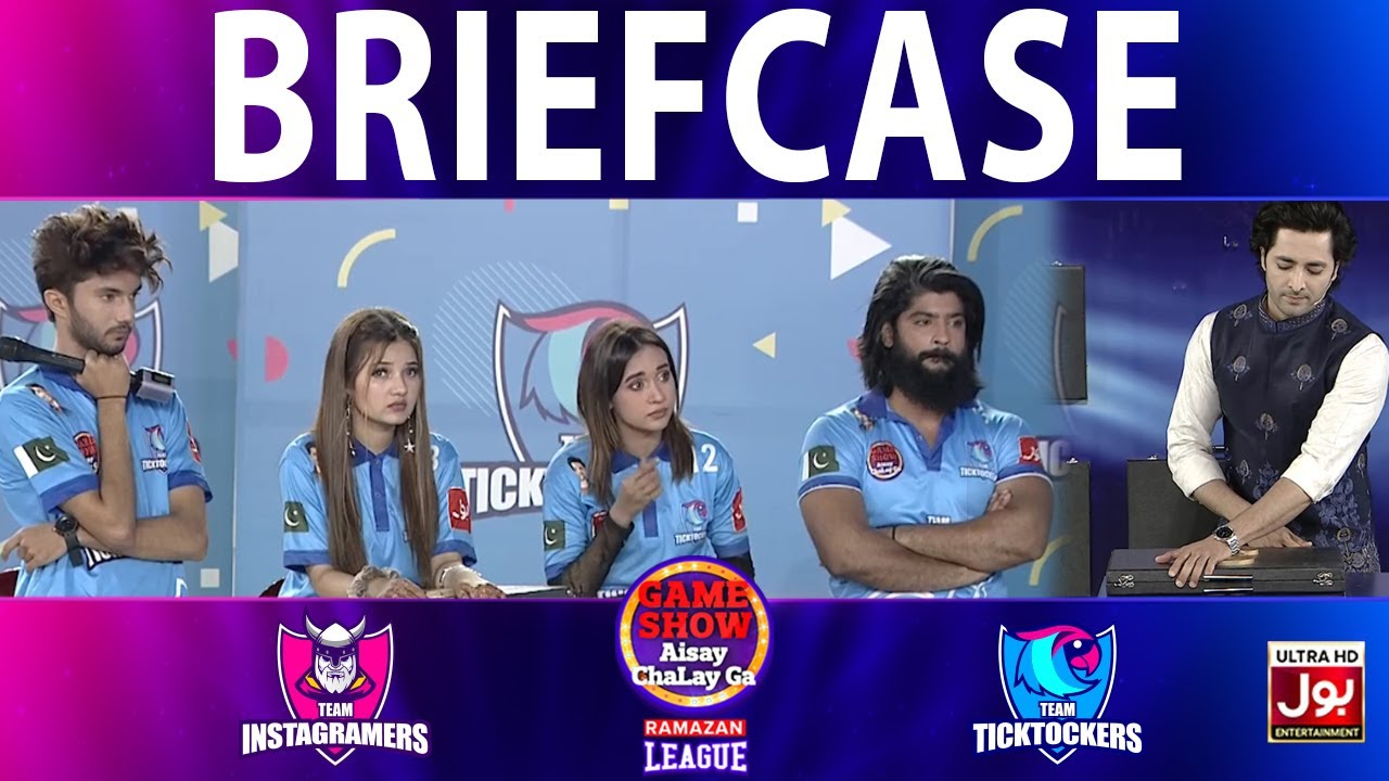 Download Briefcase | Game Show Aisay Chalay Ga Ramazan League | 3rd Eliminator | Tick Tockers Vs Instagramers