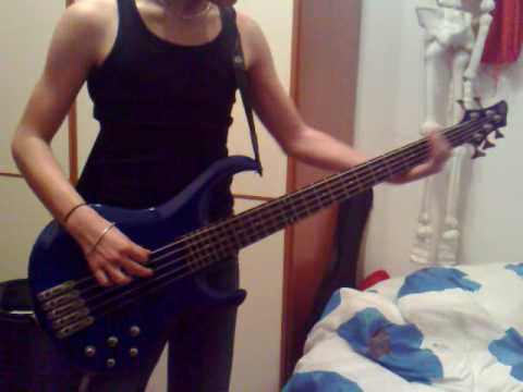 Otep -  Ghost Flowers bass cover