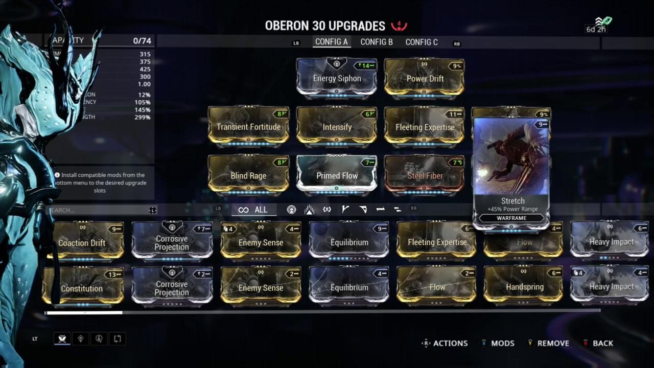 Best Oberon Build