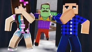 O SEGREDO DO NOSSO VIZINHO! - Hello, Zombie! (Minecraft 1.11.2)
